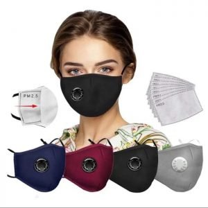 PM2.5 Masks with valves